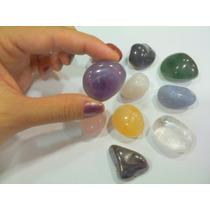 Kit 10 Pedras Preciosas/ Ametista/quartzo/citrino/cristal
