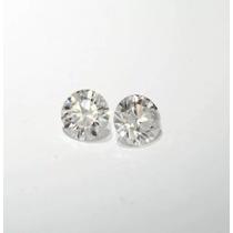 Lindo Par Diamantes Brancos, Cor H, 36 Pts Vs2/si1!