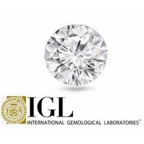 Diamante 0.50ct - E - Si2 - Lap Brilhante - Certificado Igl
