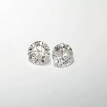 Lindo Par Diamantes Brancos 22 Pts Vs!!!!