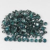 Lote De Diamantes 0.40ct - Azul-verde - I - Lapidação Bri...