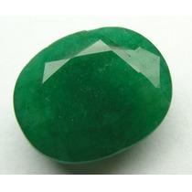 Esmeralda 100% Natural Oval Verde 9.85 Cts! Ref.:252