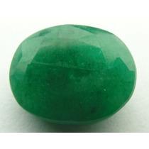 Esmeralda 100% Natural Oval Verde 8.90 Cts! Ref.:218