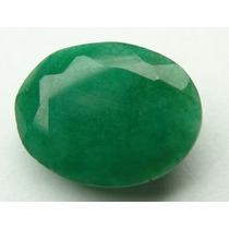Esmeralda 100% Natural Oval Verde 7.40 Cts! Ref.:260