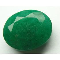 Esmeralda 100% Natural Oval Verde 12.95 Cts! Ref.:255