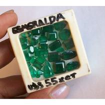 Esmeraldas Facetadas 31 Cts Lot Boa Qualidade +++ !!!!