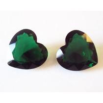 Frete Gratis Cristal Esmeralda Legítimas 15mm - 2 Pedras