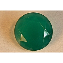 Rsp 1634 Linda Esmeralda Circular Semi Opaca Com 2,65 Ct