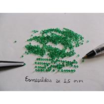 Dal Corsi Esmeraldas Legitimas 2 Pedras De 1,5 Mm