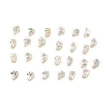 Lote Pedras Preciosas 26 Zircônias Brancas J14426