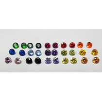 Zirconias Coloridas 10 Cores Diferentes 20 Peças ( 5mm )