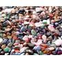 Pedras Gemas Semipreciosas Brasileiras Mistas Polidas - 500g