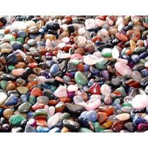 Pedras Semipreciosas Brasileiras 2-4cm Mistas Polidas - 500g