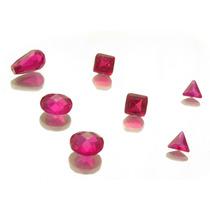 Lote Pedras Preciosas 6 Rubis Zirconia Frete Gratis! J11302
