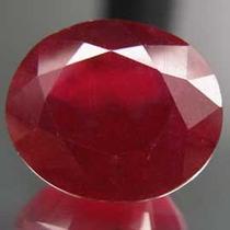 Rubi Transparente 14,10 Cts -sangue Pombo Natural