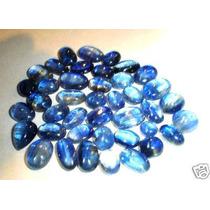 Cianitas Azuis -lote Cabochoes Com 100 Cts-exclusividade !!