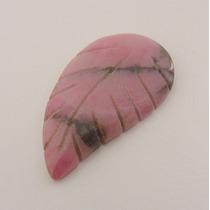 Rodonita Pedra Preciosa Natural Lapidação Livre 7569