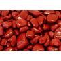 Jaspe Vermelho Pedras Semipreciosas Brasileiras Polidas 500g
