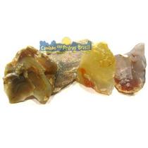 Ágata Marrom Unid. 2cm Pedra Gema Mineral Natural P/ Coleção