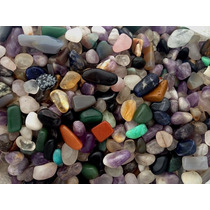 Pedras Roladas Diversas Mistas 1 Kilo Coleção