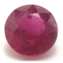 Joalheriavip 2.24ct Rubi Pink Red Redondo Natural