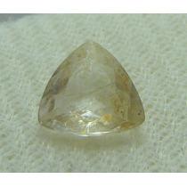 1.3 Cts Quartzo Rutilado Triângular Pedra Preciosa Natural