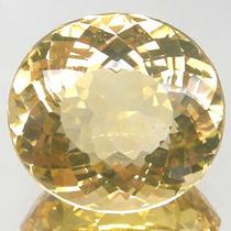 Joalheriavip 23.84ct Quartzo Amarelo Oval Natural