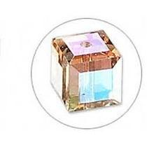 Swarovski Cristal - 6 Peças - 5601 -4 Mm - Rose Satin