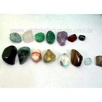 Kit Pra Coleção De Minerais 15 Pedras Diferentes Promoção