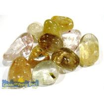 Cristal De Quartzo Rutilado Rutilo Unid. 2cm Pedra Natural