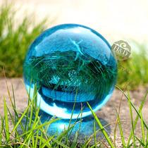 Bola De Cristal Negra Azul Verde Vermelha Esfera Malabares