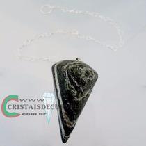 Pendulo Crisotilo Pedra Natural Corrente Brinde Frete Barato