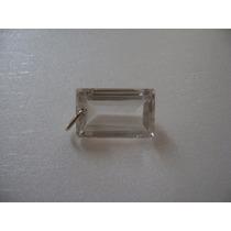 Natural Pedras Lindo Pingente Cristal Com Prata