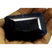 Jfa - 465cts Gigante Safira Azul Da India, Cor Super Escura.