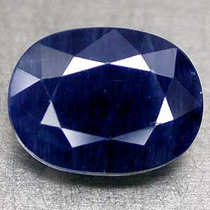 Safira Azul 100% Natural 11 X 8.5 X 5.8 Mm. 4.53cts
