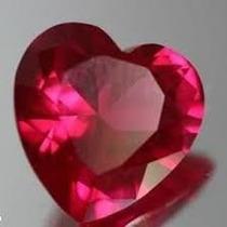Coração De Rubi Birmanês Vvs1 Com 4,55cts 10,13x10,13mm