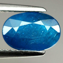 Apatita Azul Oval Facetada 2,13 Ct