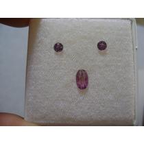 Natural Pedras Turmalina Rosa Paraíba Para Brincos E Anel