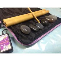 Massagem Com Pedras Quentes E Bambuterapia Bolsa Aquecedora