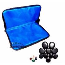 Kit Massagem Pedras Quentes 12 Pedras + Cristais 220v