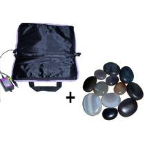 Bolsa Aquecedora De Pedras Quentes + Kit 12 Pedras - 110v