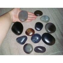 Kit Pedras Quentes Em Ágata Para Massagem /pedras Quentes