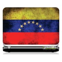 # 16 Adesivo Notebook Bandeira Venezuela (14,1
