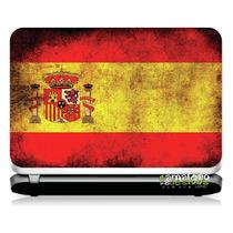 # 13 Adesivo Notebook Bandeira Espanha (14,1