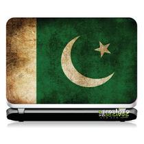 # 17 Adesivo Notebook Bandeira Paquistão (14,1
