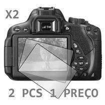 2 Pcs Pelicula Protetor Lcd Simples Camera Sony W530 W570
