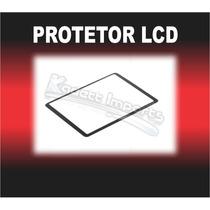 Protetor Lcd Canon 600d 60d T3i *** Não É Película
