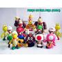 Boneco Mario Super Mario Yoshi Peach Luigi 49 Modelos Koopa