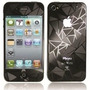 Película 3d Iphone 4 4s Efeito Quebrado Melhor Preço