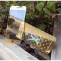 Película Vidro Dourada Lv Espelhada Iphone 6 6s Frente Verso